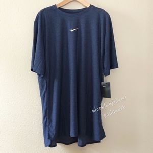 New Nike Men's Short Sleeve Mesh Running Top XL